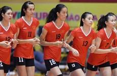 Inauguration du tournoi de volley-ball féminin U19 d'Asie