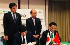 Transports : coopération entre deux groupes vietnamien et japonais