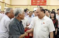 Le PM Nguyên Xuân Phuc demande de maintenir l'ordre et la paix sociaux