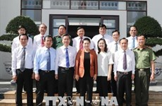 La présidente de l'AN se rend dans la province de Bac Lieu