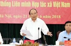 Le PM encourage la consolidation du système des coopératives à tous les niveaux