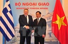 Promotion des relations de coopération Vietnam-Grèce