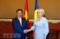 Le vice-Premier ministre Pham Binh Minh en visite officielle en Roumanie