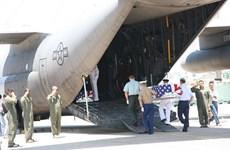 Da Nang : Rapatriement des restes de soldats américains portés disparus au Vietnam