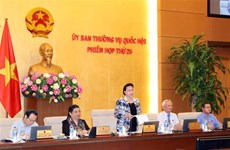 Le Comité permanent de l'Assemblée nationale entame sa 25e réunion