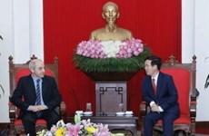 Vietnam-Italie: Le PCV félicite le secrétaire général du PCI