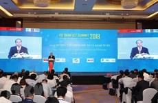 Sommet sur les TIC du Vietnam 2018 à Hanoi