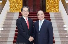 Le Premier ministre Nguyen Xuan Phuc reçoit le président de la JETRO