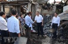 Les victimes vietnamiennes de l'incendie à Phnom Penh reçoivent un soutien