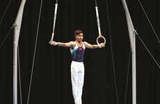 "Pham Phuoc Hung, le ""prince"" de la gymnastique vietnamienne"