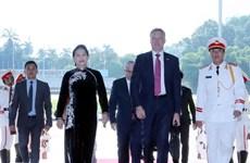 Le président de la Chambre des représentants australienne termine sa visite officielle au Vietnam