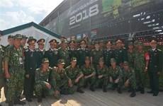 Le Vietnam participe aux Jeux militaires internationaux 2018 en Russie