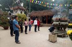 Là-haut, le génie de la montagne Tan Viên trône dans son panthéon