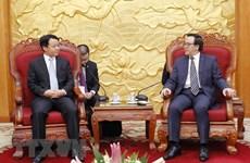 Une délégation de la jeunesse chinoise au Vietnam