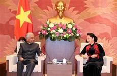 La présidente de l'AN reçoit les représentants du PNUD et de l'UNICEF