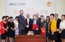 Education : renforcement de la coopération Vietnam-Royaume-Uni