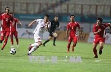 Football : le Vietnam bat le Népal 2-0 aux ASIAD 18