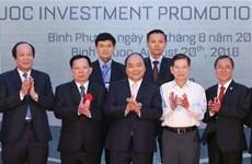 Le PM Nguyên Xuân Phuc exhorte Binh Phuoc à transformer ses potentialités en réalités