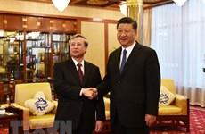 Tran Quoc Vuong reçu par le dirigeant chinois Xi Jinping