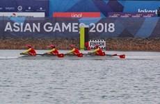 ASIAD 2018: les rameurs remportent la première médaille d'or pour le Vietnam