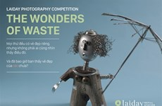 """Lancement du concours de photos """"Les merveilles des déchets"""""""
