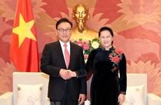 La présidente de l'AN s'engage à créer des conditions favorables aux investisseurs sud-coréens