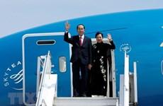 Diverses activités dans le cadre de la visite du président Tran Dai Quang en Ethiopie