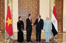 Le Vietnam et l'Egypte affirment leur volonté d'approfondir leurs liens