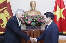 Vietnam et Sri Lanka porteront leur commerce à plus d'un milliard de dollars