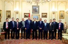 Le président Tran Dai Quang termine sa visite d'Etat en Egypte