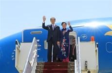 Le président termine ses visites d'Etat en Ethiopie et en Egypte