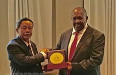 Une délégation de l'Assemblée nationale du Vietnam en visite en Afrique du Sud