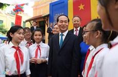 Le chef de l'Etat souhaite une bonne nouvelle année scolaire au secteur de l'éducation