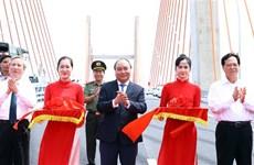 Le chef du gouvernement inaugure l'autoroute Ha Long–Hai Phong