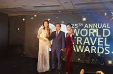 Le Vietnam obtient des prix mondiaux du tourisme 2018