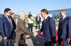 Le secrétaire général Nguyên Phu Trong se rend dans l'oblast de Kaluga