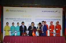 Célébration des 25 ans de l'ouverture de la ligne aérienne Vietnam-Russie