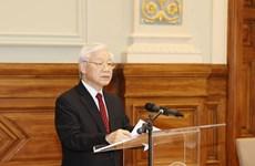 Le leader du PCV à la 2è Conférence des recteurs des Universités Vietnam – Hongrie