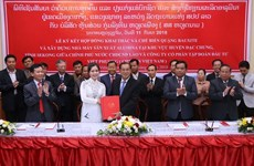 Le Vietnam met en œuvre le plus grand projet minier au Laos