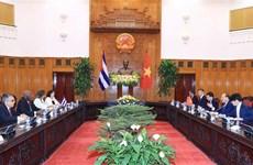 Le Vietnam chérit toujours ses liens avec Cuba, affirme le Premier ministre Nguyên Xuân Phuc