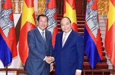 Le PM Nguyên Xuân Phuc reçoit son homologue cambodgien