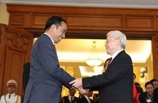 Le président indonésien termine sa visite d'Etat au Vietnam