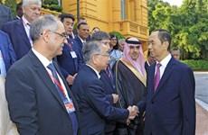 Le chef de l'Etat reçoit les chefs des délégations à l'ASOSAI 14