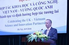 Royaume-Uni-Vietnam : approfondissement de la coopération dans la science et technologie