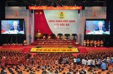 Le leader du PCV demande aux syndicats de renforcer leur efficacité opérationnelle