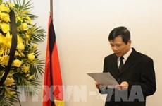 Cérémonie funéraire en mémoire du président Tran Dai Quang à New York