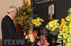 Cérémonies en mémoire du président Trân Dai Quang en Espagne et au Venezuela
