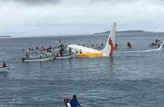 Quatre Vietnamiens à bord de l'avion sorti de piste en Micronésie