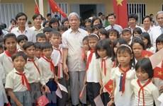 Décès de l'ancien SG du PCV Do Muoi : message de condoléances du Laos