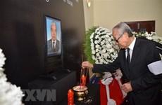 Cérémonies en mémoire de l'ancien secrétaire général Do Muoi au Cambodge et en Australie